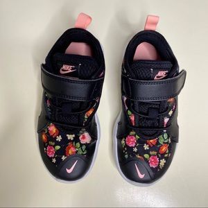 NIKE Flex Contact 3 Black/Floral Sneakers
